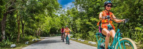 PEDEGO ELECTRIC BIKE TOURS IN COZUMEL